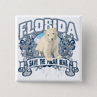 Polar Bear Florida Button