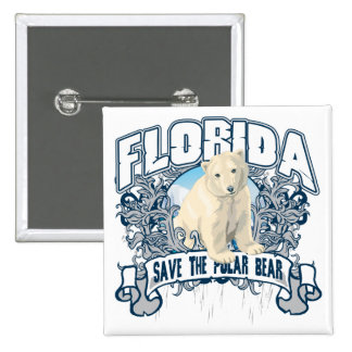Polar Bear Florida Button