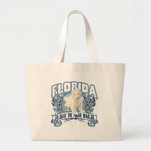 Polar Bear Florida Tote Bag