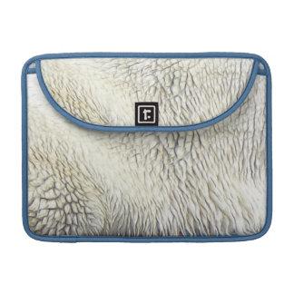Polar Bear Fur MacBook Sleeve