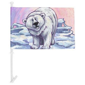 Polar Bear Gifts & Accessories Car Flag