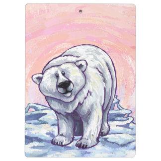 Polar Bear Gifts & Accessories Clipboard