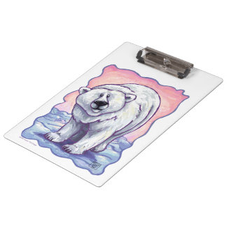 Polar Bear Gifts & Accessories Clipboards