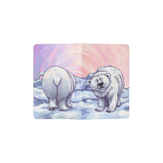 Polar Bear Gifts & Accessories Pocket Moleskine Notebook Cover With Notebook