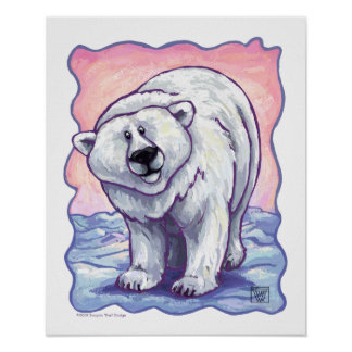 Polar Bear Gifts & Accessories Poster