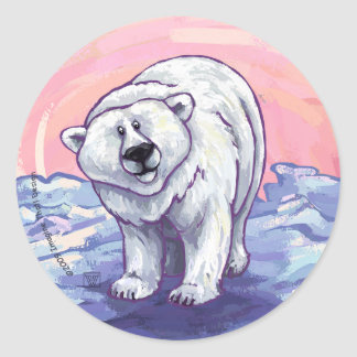 Polar Bear Gifts & Accessories Classic Round Sticker