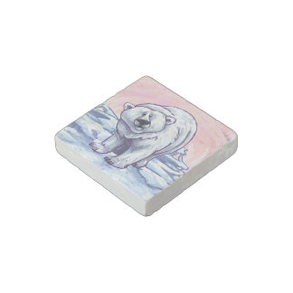 Polar Bear Gifts & Accessories Stone Magnet