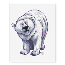 Polar Bear Gifts & Accessories Temporary Tattoos