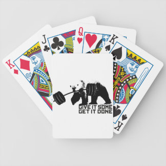 Polar Bear - Give It Some Bicycle Playing Cards