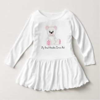 Polar Bear Great Grandma Loves Me Tee Shirt