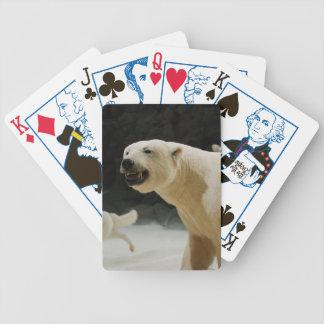 Polar Bear Grin Bicycle Playing Cards