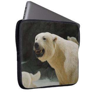 Polar Bear Grin Laptop Sleeves