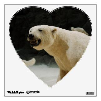 Polar Bear Grin Wall Sticker