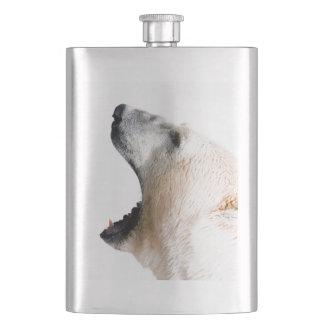 Polar bear growl flasks
