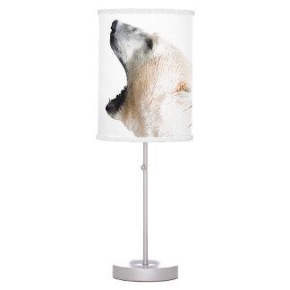Polar bear growl desk lamp