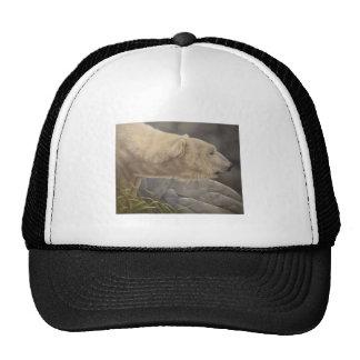 Polar Bear Mesh Hat