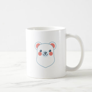 Polar Bear Head Coffee Mug