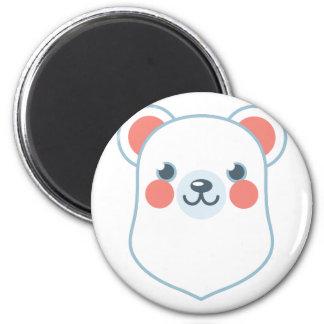 Polar Bear Head Magnet