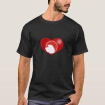 polar bear heart T-Shirt