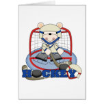 Polar Bear Hockey Goalie Tshirts and Gifts Cards