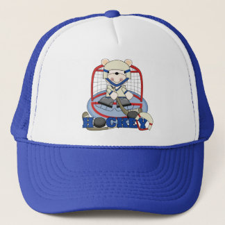 Polar Bear Hockey Goalie Tshirts and Gifts Trucker Hat