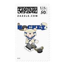 Polar Bear Hockey TShirts and Gifts Postage