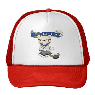 Polar Bear Hockey TShirts and Gifts Trucker Hat