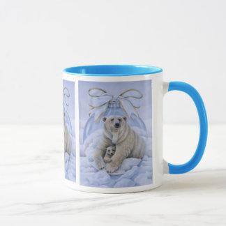 Polar Bear Holiday Mug