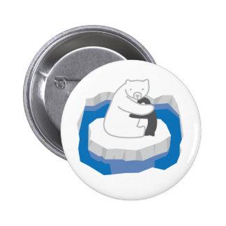 Polar Bear Hug Button