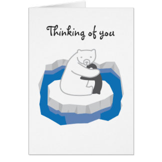 Polar Bear Hug Card