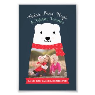 Polar Bear Hugs and Warm Wishes Photo