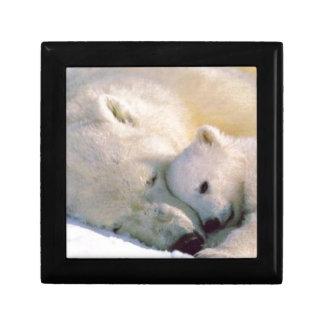 Polar Bear Hugs Keepsake Boxes