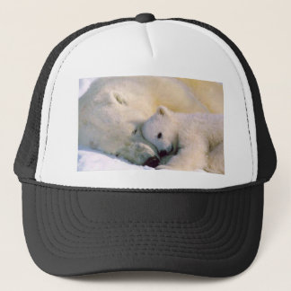 Polar Bear Hugs Trucker Hat