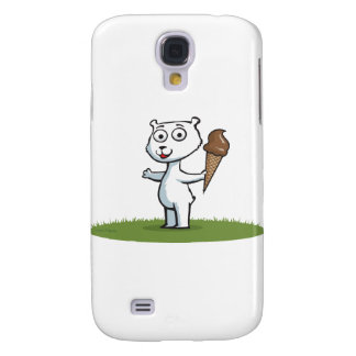 Polar Bear Ice Cream Galaxy S4 Cover