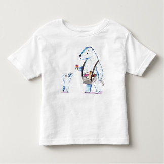 Polar Bear Ice Cream Shirt