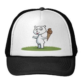 Polar Bear Ice Cream Trucker Hat