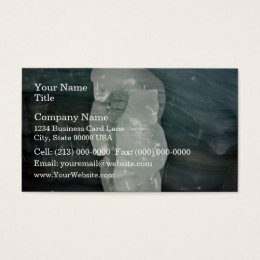 Polar Bear ice sculpture Business Card