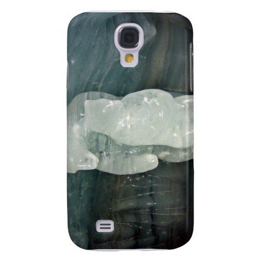 Polar Bear ice sculpture Galaxy S4 Cover