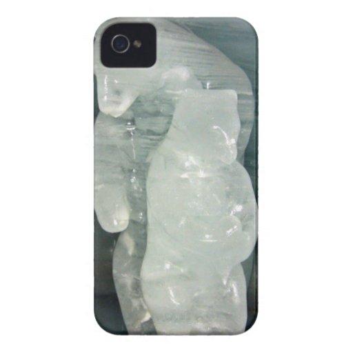 Polar Bear ice sculpture Blackberry Bold Covers