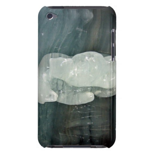 Polar Bear ice sculpture Barely There iPod Cover