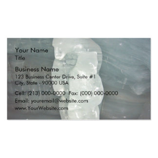 Polar Bear ice sculpture Double-Sided Standard Business Cards (Pack Of 100)
