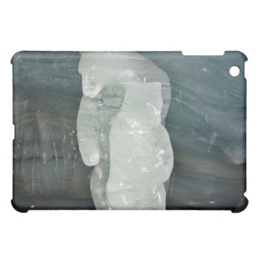 Polar Bear ice sculpture iPad Mini Case