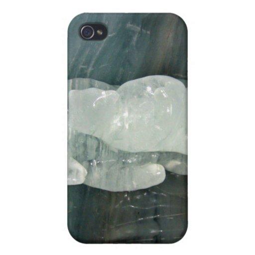 Polar Bear ice sculpture iPhone 4 Cover