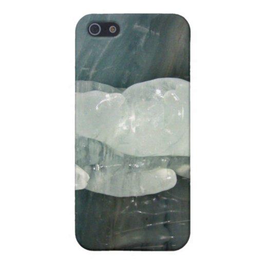 Polar Bear ice sculpture iPhone 5 Case
