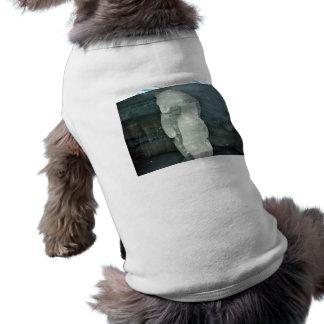 Polar Bear ice sculpture Pet T Shirt