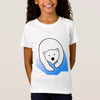 Cartoon Polar Bear Kids Baby Clothing Apparel Zazzle