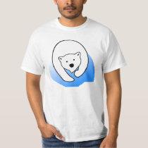 Polar bear illustration T-Shirt