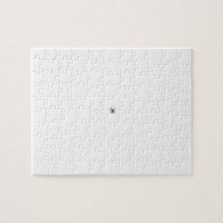 Polar Bear in a Snow Storm Jigsaw Puzzle