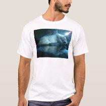 Polar Bear In Prayer 2 Adult Tshirt