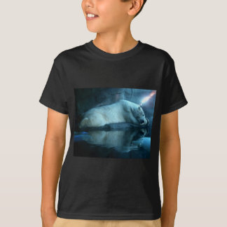 Polar Bear In Prayer 2 Kids Tshirt